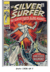 The Silver Surfer #18 © September 1970, Marvel Comics