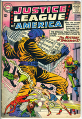 JUSTICE LEAGUE of AMERICA #020 © June 1963 DC Comics