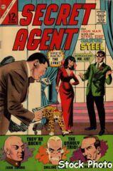 Sarge Steel, Secret Agent #9 © October 1966 Charlton