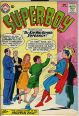 SUPERBOY #104 © April 1963 DC Comics
