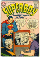 SUPERBOY #053 © December 1956 DC Comics