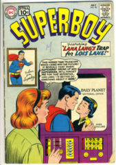 SUPERBOY #090 © July 1961 DC Comics