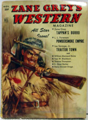 ZANE GREY'S WESTERN MAGAZINE V5 #09 © 11/51 Dell