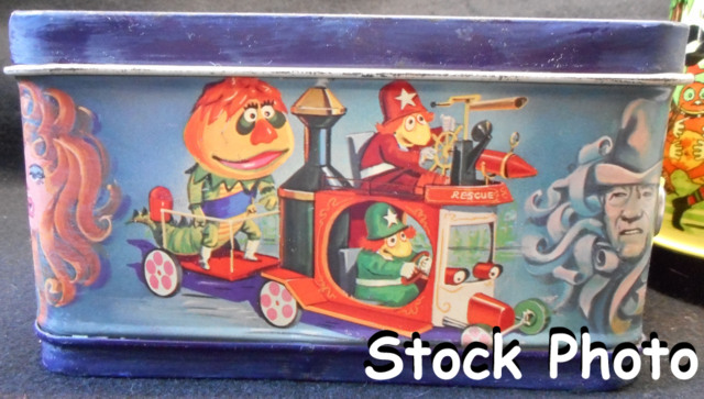 HR Pufnstuf Lunch Box w/ Thermos © 1970, Aladdin