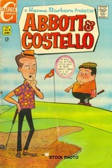 Abbott & Costello #09 © 1969 Charlton