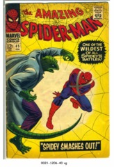 Amazing Spider-Man #045 © February 1967 Marvel Comics