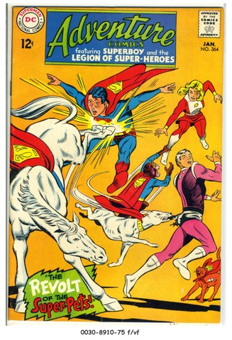 ADVENTURE COMICS #364 © 1968 DC Comics