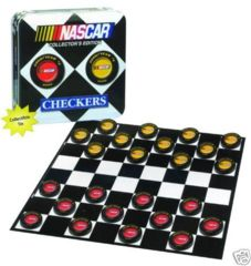 NASCAR CHECKERS Collector's Edition © 2003 USAoply