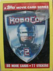 ROBO COP 2 Card Set w/ Stickers © 1990 Topps