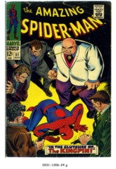 Amazing Spider-Man #051 © August 1967 Marvel Comics