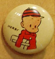 HERBY Kellogg's Pep Pin Pinback Button