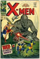 The X-MEN #034 © July 1967 Marvel Comics