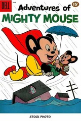 Adventures of Mighty Mouse v2#150 © 1961 Dell