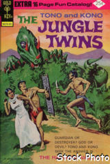Jungle Twins #12 © January 1975 Gold Key