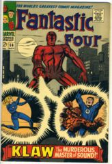 FANTASTIC FOUR #056 © November 1966 Marvel Comics