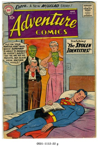 ADVENTURE COMICS #270 © 1960 DC Comics