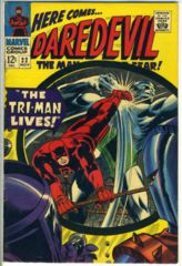 DAREDEVIL #022 © 1966 Marvel Comics