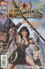 Hercules: The Legendary Journeys #3 © August 1996 Topps