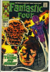 FANTASTIC FOUR #078 © September 1968 Marvel Comics
