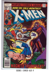 The X-Men #112 © August 1978, Marvel Comics