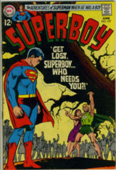 SUPERBOY #157 © June 1969 DC Comics
