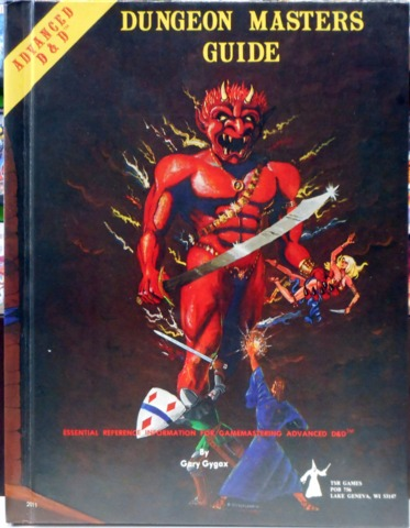 Dungeon Master's Guide © Dec 1979 TSR 2011