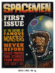 Spacemen #1 © July 1961 Warren/Spacemen