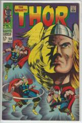 Thor #158 © November 1968 Marvel Comics