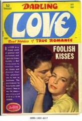 Darling Love #6 © 1950 Close Up/Archie Comics