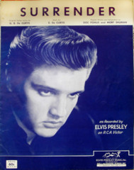 Surrender © 1961 Elvis Presley Photo Cover
