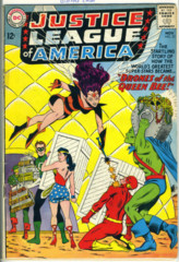 JUSTICE LEAGUE of AMERICA #023 © 1963 DC Comics