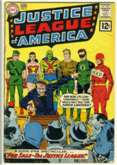 JUSTICE LEAGUE of AMERICA #008 © 1962 DC Comics