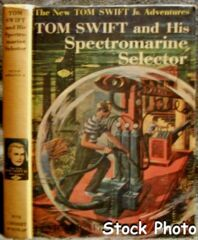 Tom Swift and His Spectromarine Selector #15 © 1959 Victor Appleton II