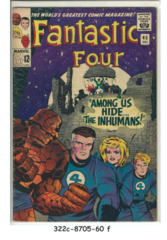Fantastic Four #045 © December 1965 Marvel Comics