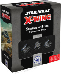 Star Wars X-Wing: 2nd Edition - Servants of Strife Squadron Pack © 2019