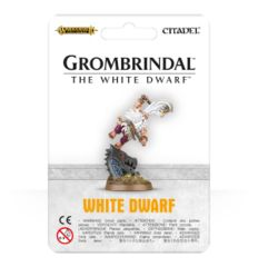 Dragon Slayer with Rune Axe /Age of Sigmar Grombrindal - The White Dwarf © 2016 gwTDW-01