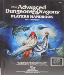Player's Handbook © Jan 1980 TSR 2010 6th print