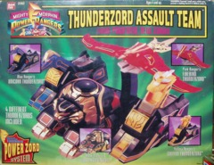 Mighty Morphin Power Rangers Thunderzord Assault Team © 1994 Bandi 2262