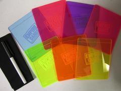 Pink Dry Erase Scorepad - EmpireCards.com