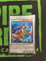 Coral Dragon TDIL-EN051 Secret Rare 1st Edition