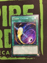 Cosmic Cyclone TDIL-EN065 Secret Rare 1st Edition