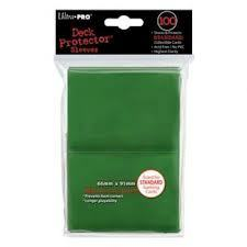 Green Ultra Pro Sleeves 100 ct