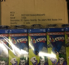 DC Comics HeroClix - The Joker's Wild! - Booster Case