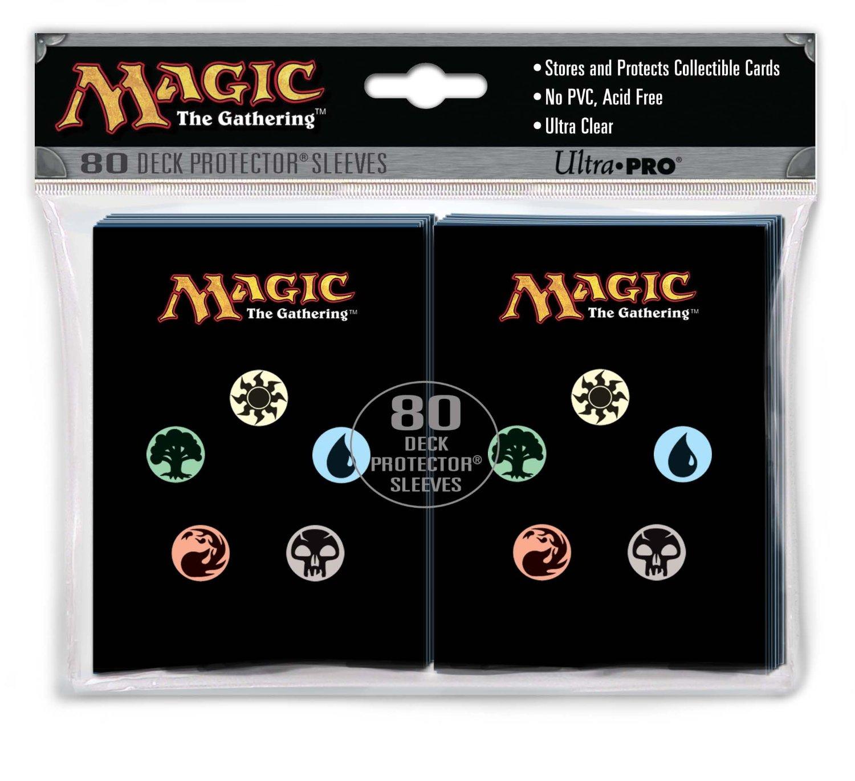 Magic The Gathering 5 Mana Symbols Sleeves 80 Ct Series 2 Gaming