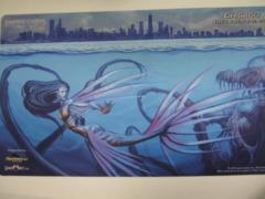 Grand Prix Chicago 2012 Skyline Pastimes Event PlayMat *EmpireCards Logo*