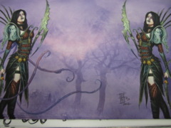 Darkling Playmat *Signed by RKPost*
