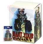 Max Protection I Want Your Brains Deck Box
