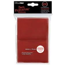 Red Ultra Pro Sleeves 100 ct
