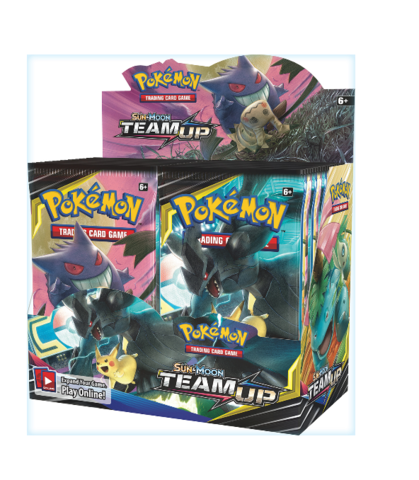 Pokemon Team up Booster Box