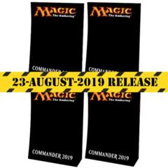 Commander 2019: Theme Deck Set of Four
